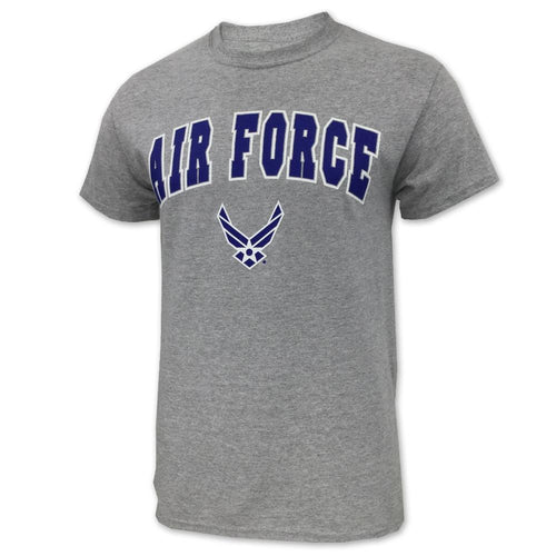 AIR FORCE ARCH WINGS T-SHIRT (GREY) 1
