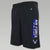 AIR FORCE CHAMPION AIM HIGH MESH SHORTS (BLACK)