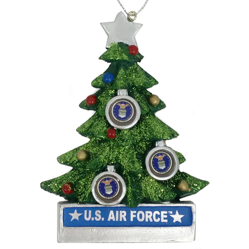 AIR FORCE CHRISTMAS TREE ORNAMENT
