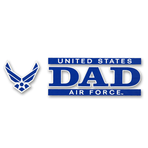 AIR FORCE DAD DECAL 1