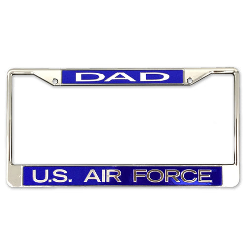 AIR FORCE DAD LICENSE PLATE FRAME 3