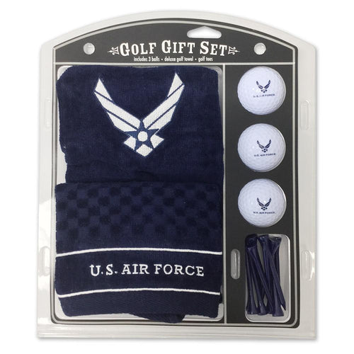 AIR FORCE EMBROIDERED TOWEL GIFT SET