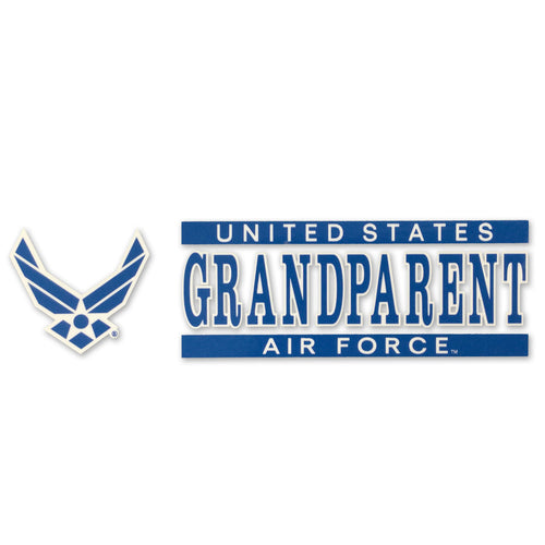 AIR FORCE GRANDPARENT DECAL 1