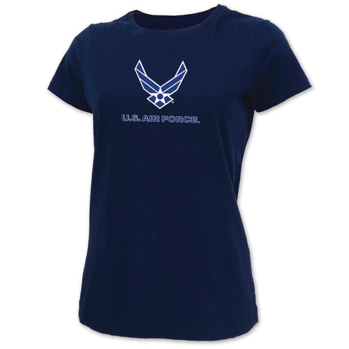 AIR FORCE LADIES WINGS LOGO SCOOP NECK T-SHIRT 14