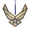 AIR FORCE LOGO ORNAMENT 2