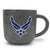 AIR FORCE MARBLED 17 OZ MUG (GREY)