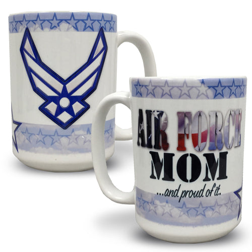 AIR FORCE MOM COFFEE MUG 4