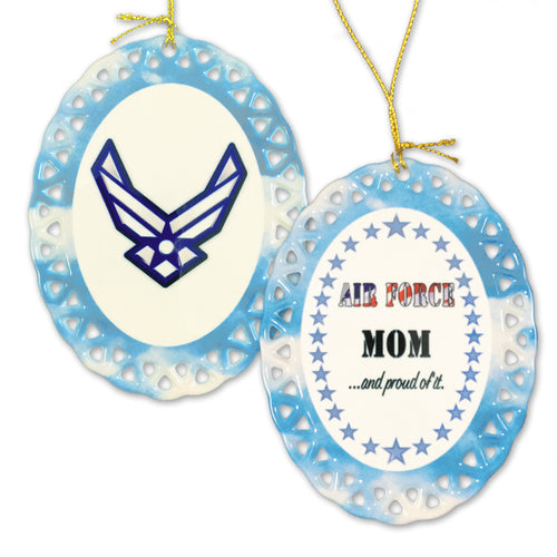 AIR FORCE PROUD MOM ORNAMENT 3