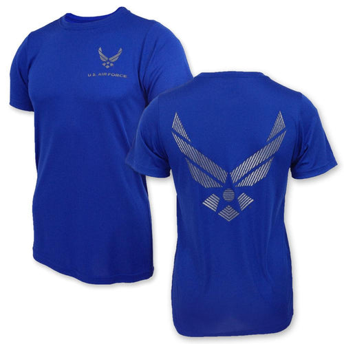 AIR FORCE PT T-SHIRT (ROYAL) 3