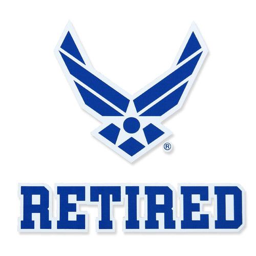 AIR FORCE RETIRED DECAL