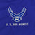 AIR FORCE SOLID WIND JACKET (ROYAL) 4
