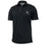 AIR FORCE TONAL WINGS UNDER ARMOUR TECH POLO (BLACK)