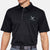 AIR FORCE TONAL WINGS UNDER ARMOUR TECH POLO (BLACK) 1