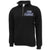 AIR FORCE TWILL LOGO 1/4 ZIP (BLACK)