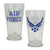 AIR FORCE WINGS 16OZ GLASS 2