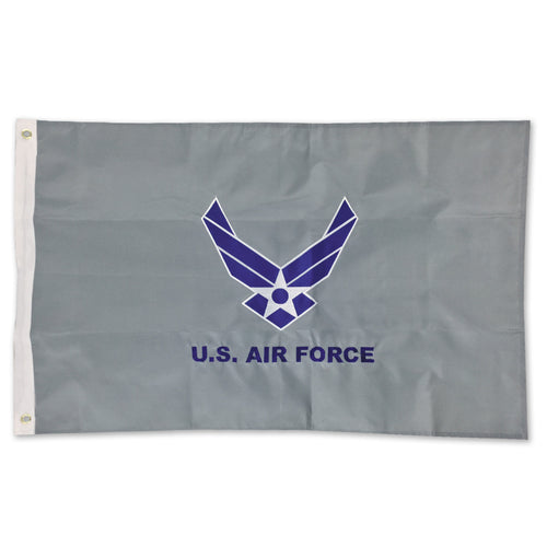 AIR FORCE WINGS 2 SIDED EMBROIDERED FLAG (2'X3') 2