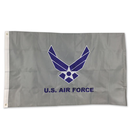AIR FORCE WINGS 2 SIDED EMBROIDERED FLAG (3'X5') 2