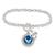 AIR FORCE WINGS CRYSTAL WIFE BRACELET