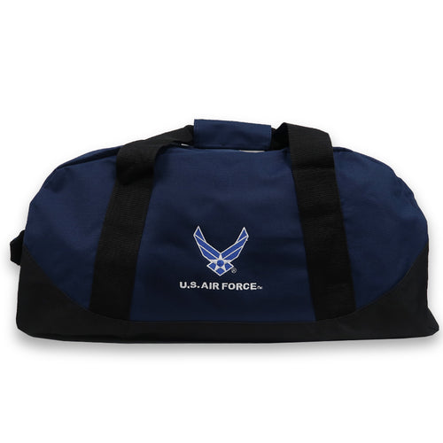 AIR FORCE WINGS DOME DUFFEL BAG (NAVY) 3