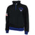 AIR FORCE WINGS EMBROIDERED FLEECE STRIPE 1/4 ZIP (BLACK)