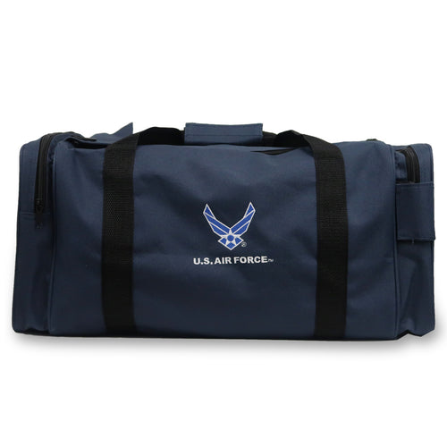 AIR FORCE WINGS GEAR PAK DUFFEL BAG (NAVY)