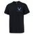 AIR FORCE WINGS LEFT CHEST LOGO T-SHIRT (BLACK)