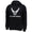 AIR FORCE WINGS LOGO HOOD (BLACK)