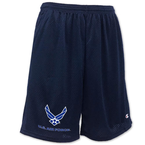 AIR FORCE WINGS LOGO MESH SHORT