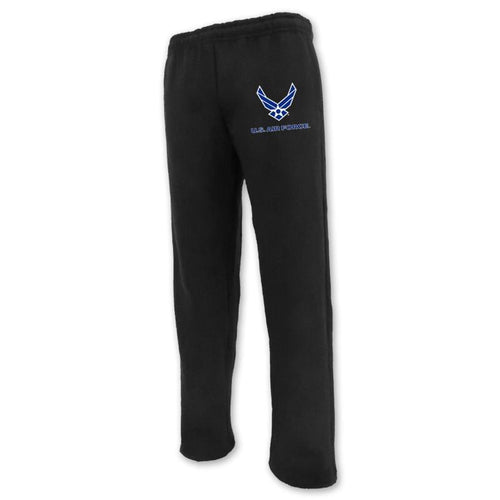 AIR FORCE WINGS LOGO SWEATPANT (BLACK)