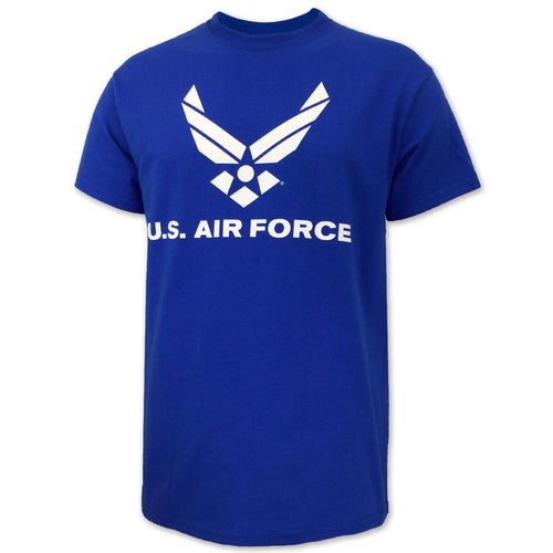 AIR FORCE WINGS LOGO T-SHIRT (ROYAL) 3