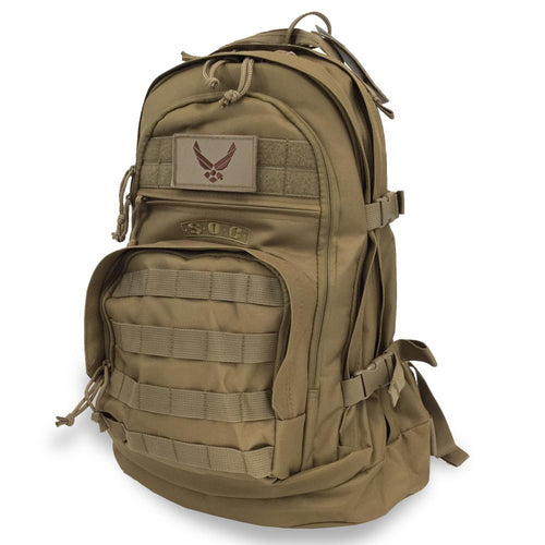 AIR FORCE WINGS S.O.C. 3 DAY PASS BAG (COYOTE BROWN)