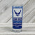 AIR FORCE WINGS SHOOTER SHOT GLASS