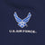 AIR FORCE WINGS UNDER ARMOUR PERFORMANCE POLO (NAVY) 1