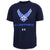 AIR FORCE WINGS UNDER ARMOUR TECH T-SHIRT (NAVY) 3