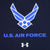 AIR FORCE WINGS UNDER ARMOUR TECH T-SHIRT (NAVY) 4