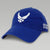 AIR FORCE WINGS VET HAT (ROYAL)