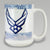 AIR FORCE GRANDPARENT COFFEE MUG 3