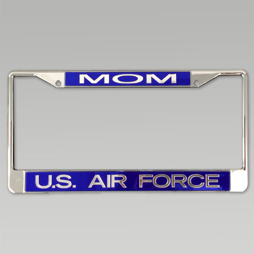 AIR FORCE MOM LICENSE PLATE FRAME