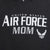 UNITED STATES AIR FORCE MOM HOOD (HEATHER BLACK) 1