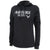 LADIES UNITED STATES AIR FORCE MOM HOOD (HEATHER BLACK) 1