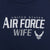 Ladies United States Air Force Wife Tank (Navy)