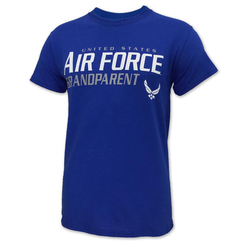 UNITED STATES AIR FORCE GRANDPARENT T-SHIRT (ROYAL) 2