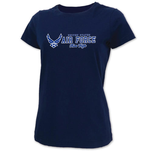 UNITED STATES AIR FORCE LADIES AIM HIGH T-SHIRT