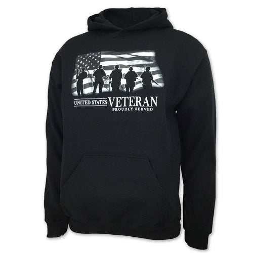 UNITED STATES VETERAN PROUDLY SERVED HOOD (BLACK) 1