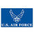US AIR FORCE WINGS FLAG