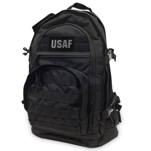 USAF S.O.C 3 DAY PASS BAG (BLACK/GREY)