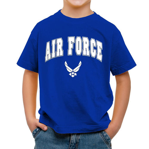YOUTH AIR FORCE ARCH WINGS TSHIRT 3