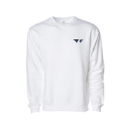 FL-AT01 White Crewneck Sweatshirt