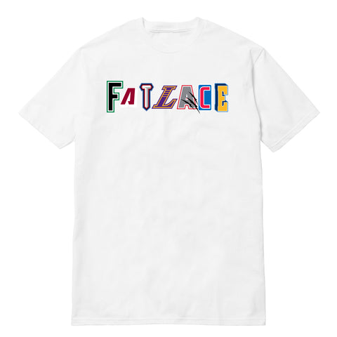 Fatlace All-Stars White Premium Tee