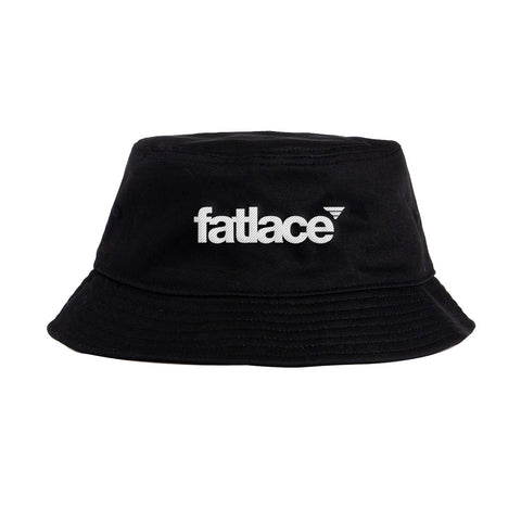Fade to Black Fatlace Bucket Hat